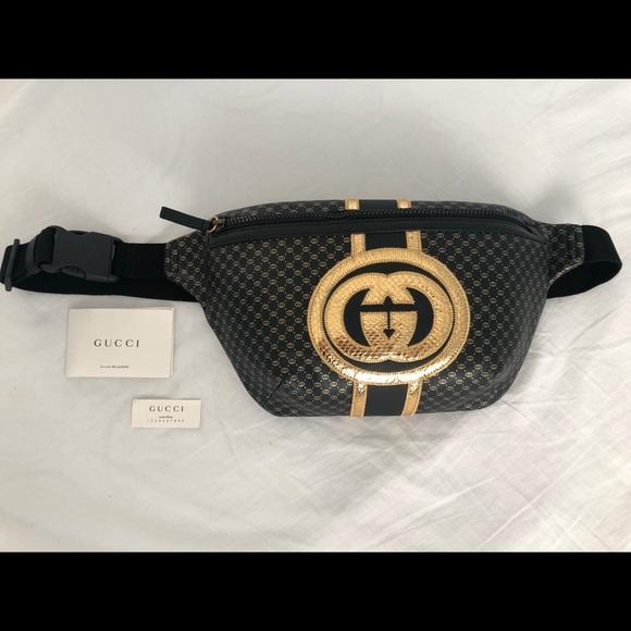 03084adac2d Special Edition Gucci Dapper Dan Belt Bag